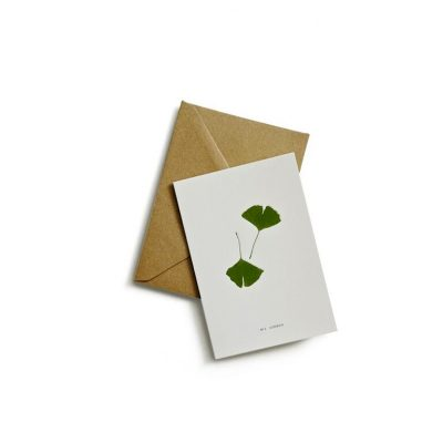 Greeting card gingko