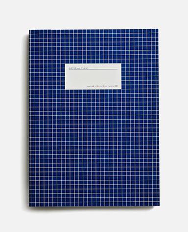 large grid dark blue