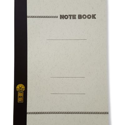 Notebook uni grey LIFE