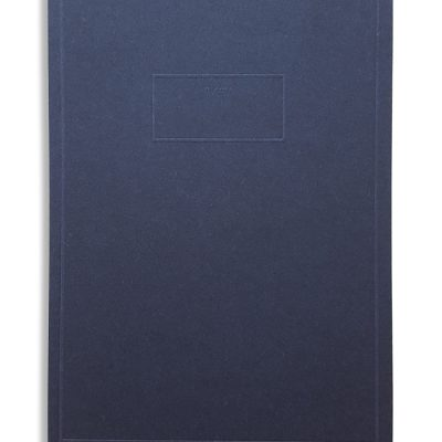 Pocket memo notebook blue