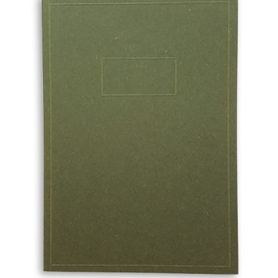 Pocket memo notebook green