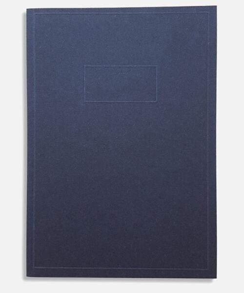 pocket memo blue