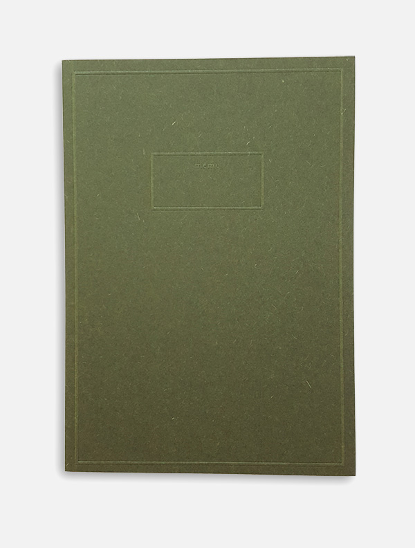 pocket memo green