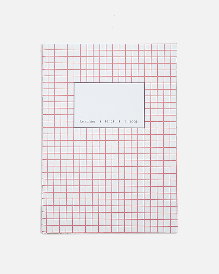 pocket notebook red square