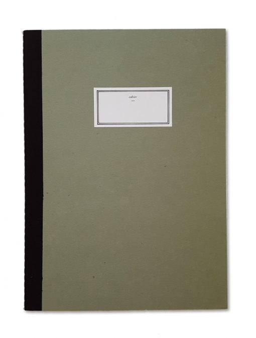 Stitch notebook green