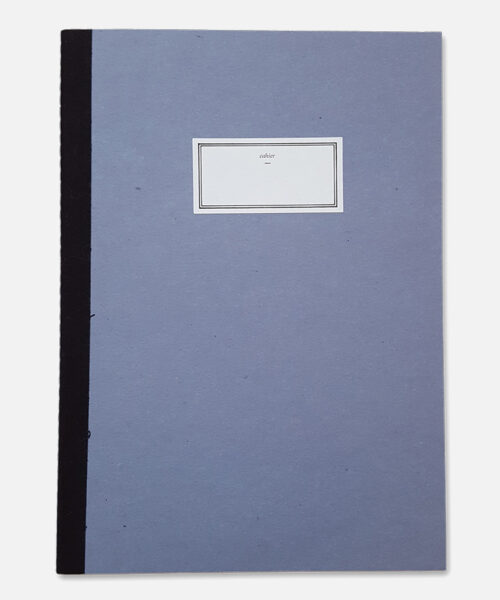 stitch notebook blue