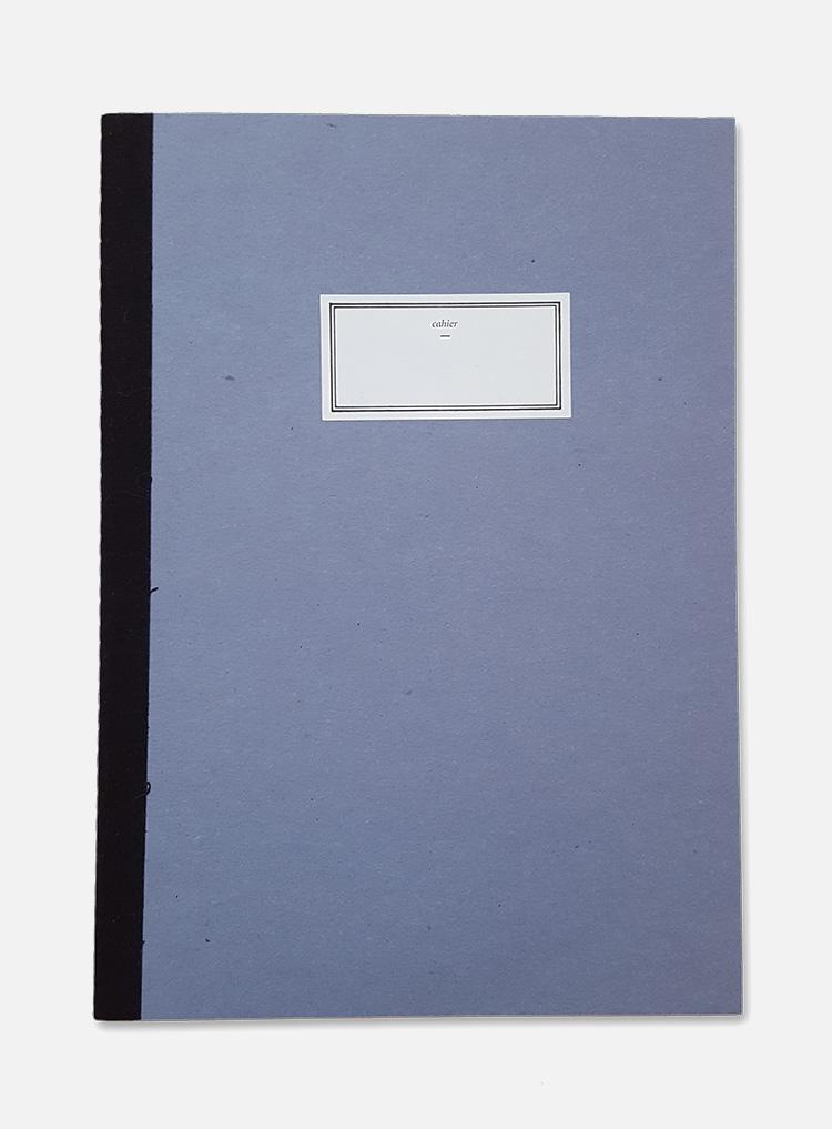 stitch notebook blue
