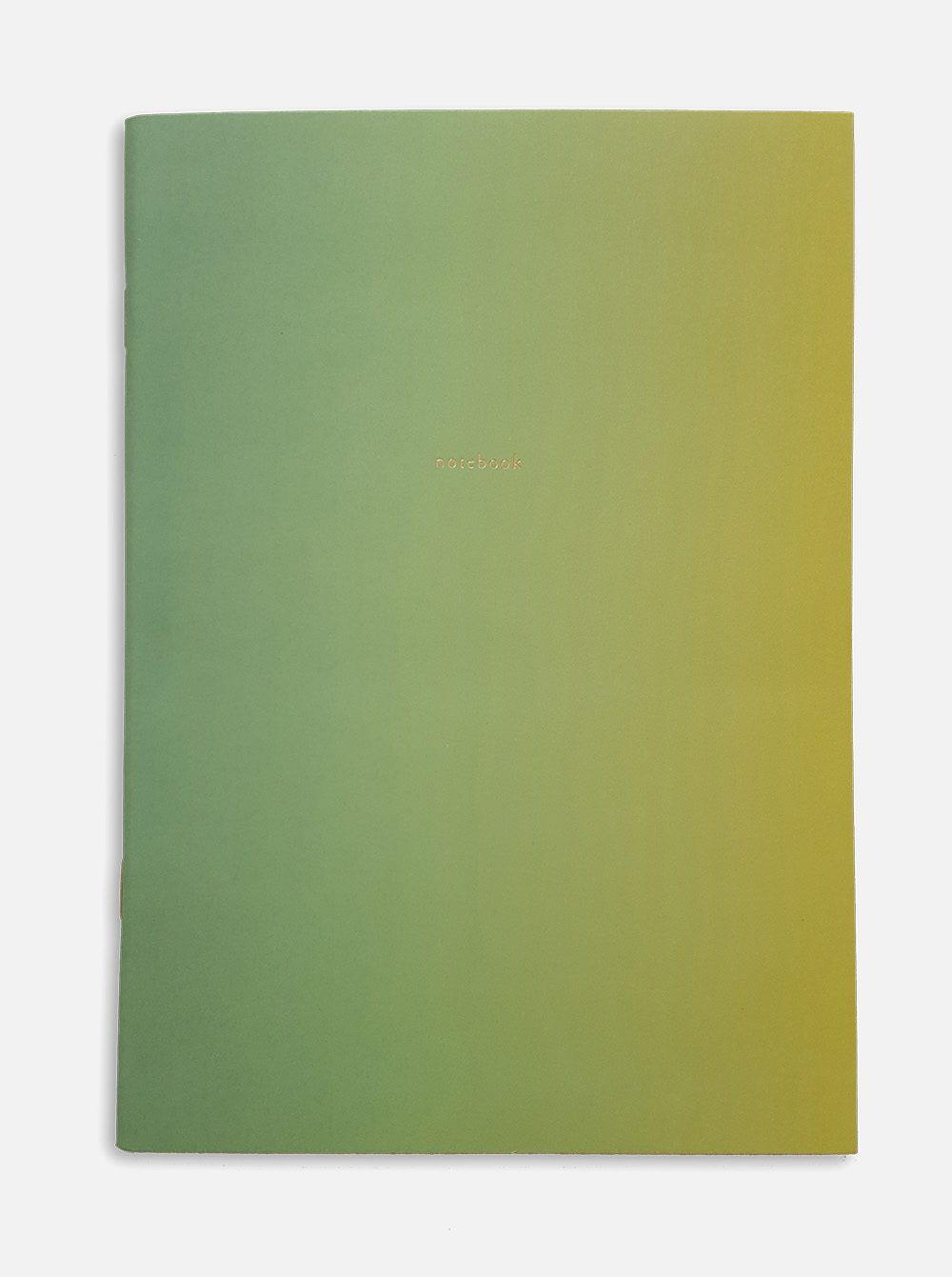 supernova notebook green