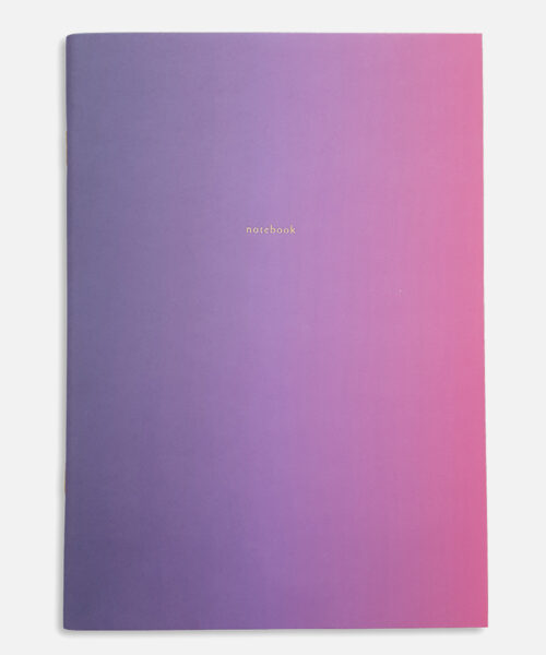 supernova notebook pink