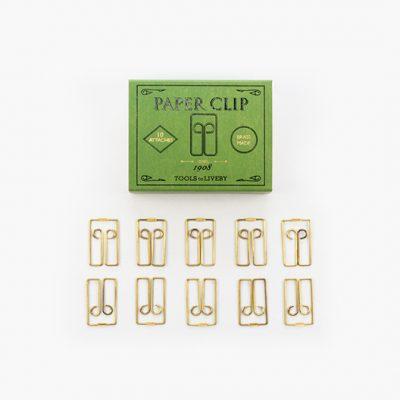 Brass clip Owl