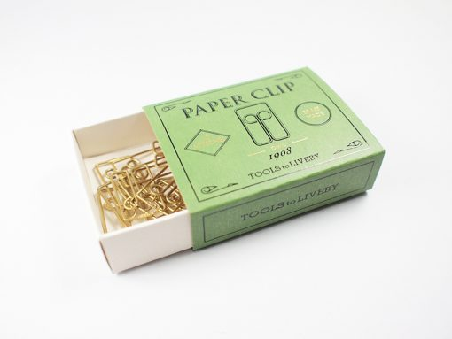 Brass clip owl tools to liveby