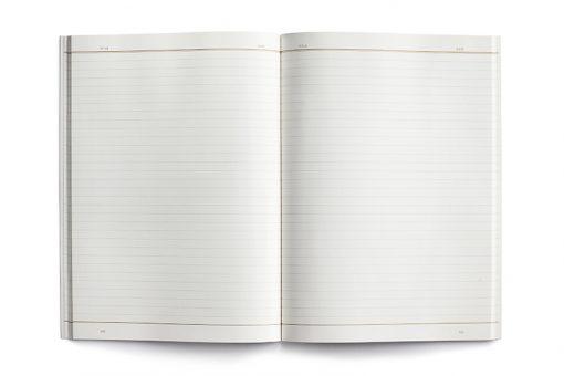 large notebook grid kartotek