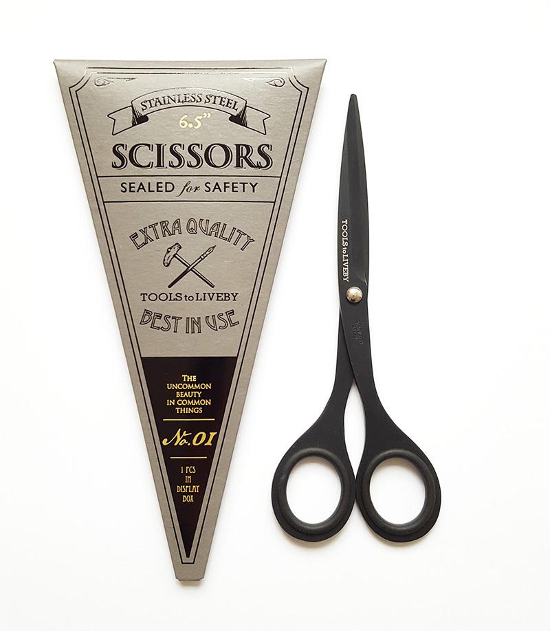 scissors 6.5 black