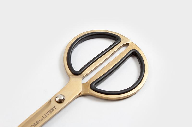 scissor 8 gold circle