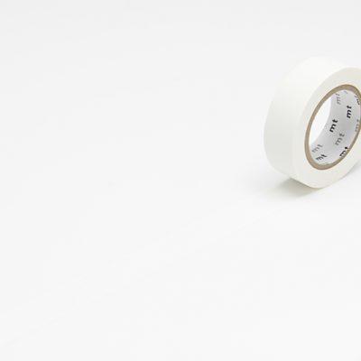 matte white masking tape washi