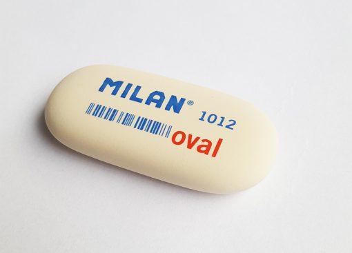 milan eraser 1012 oval