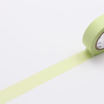 pastel lime masking tape washi tape