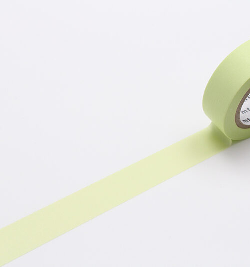 pastel lime masking tape washi tape
