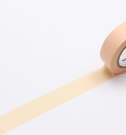 pastel orange masking tape