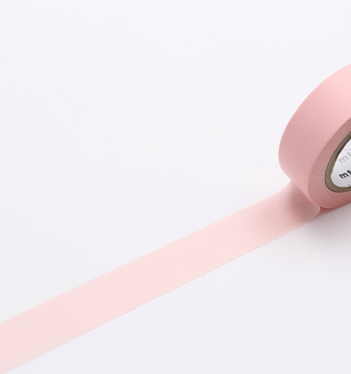 pastel red mt masking tape washi