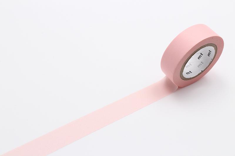 pastel red mt masking tape washi