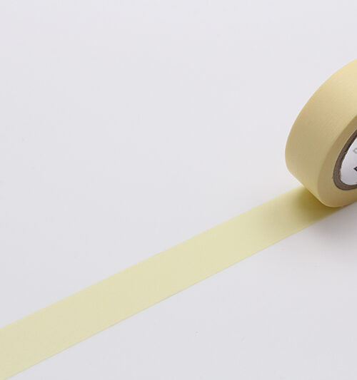 pastel yellow mt masking tape