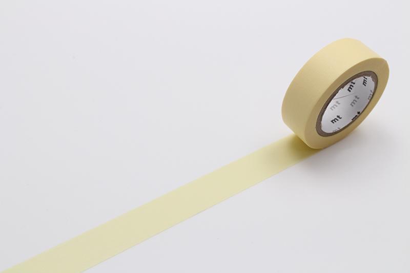 pastel yellow mt masking tape