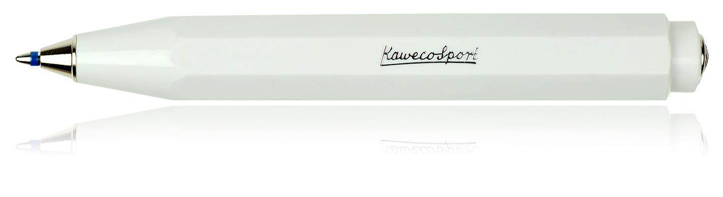 ballpen white kaweco