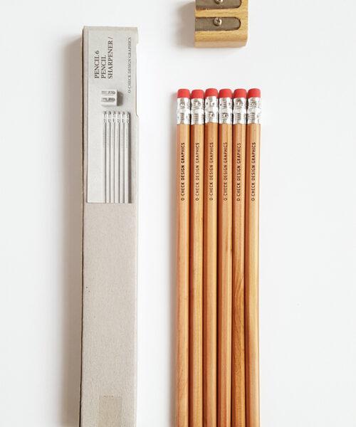 6 pencil set