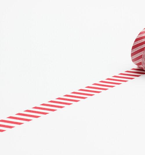 masking tape stripe vermilion