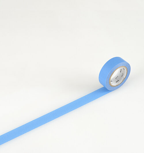 masking tape in blue