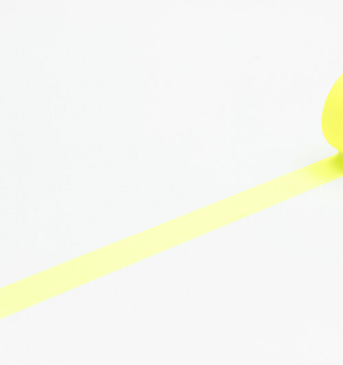 shocking yellow neon masking tape