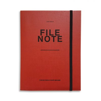 file note red