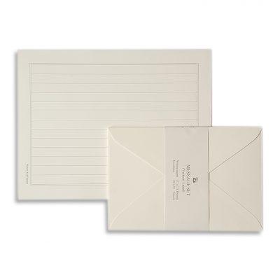 letter set white