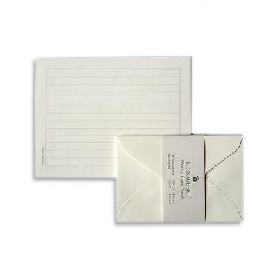 mini letter set white