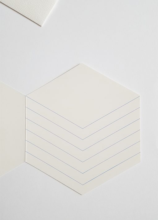 inside green cube greeting card