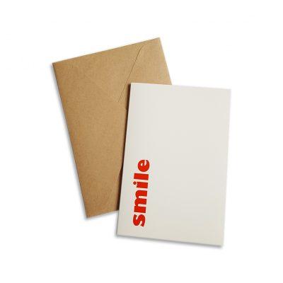 greeting card smile