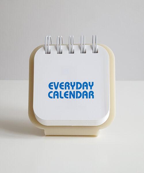 everyday calendar ivory