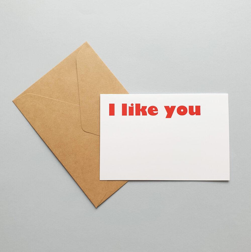 card i like you