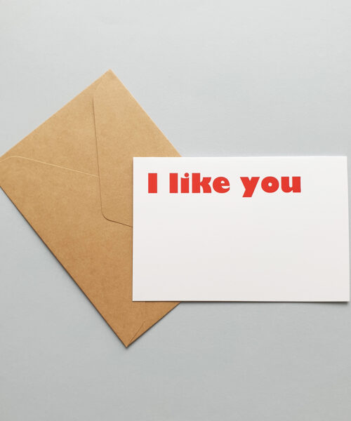 card i like you
