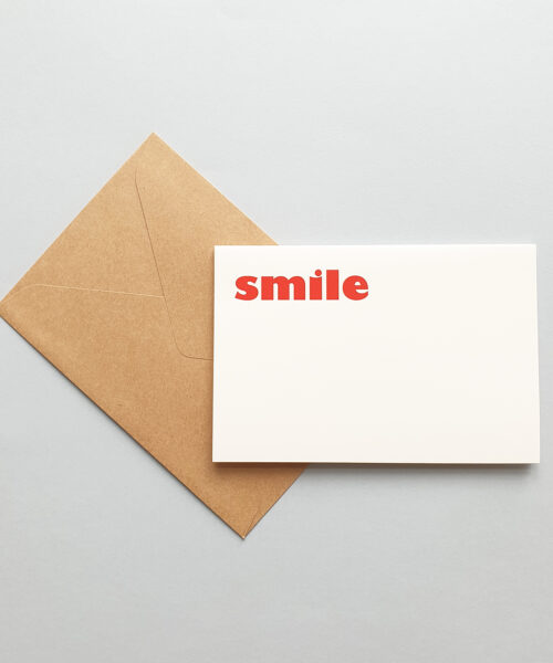 greeting card smile