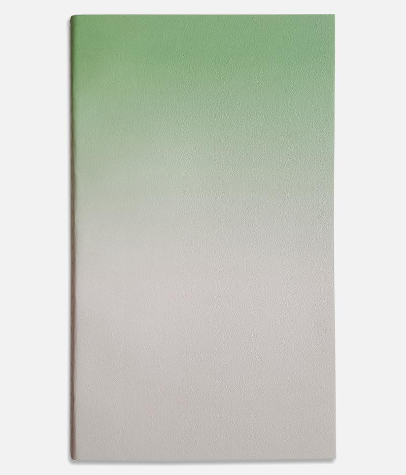 medium horizon notebook green