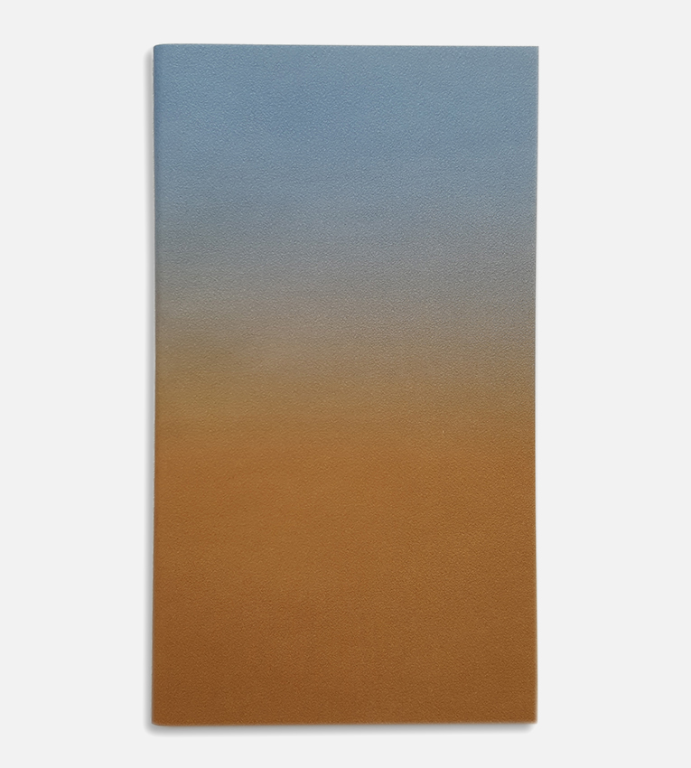 small horizon notebook blue brown