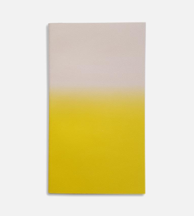 small horizon notebook powder yellow