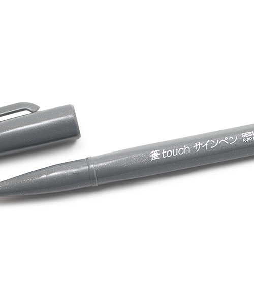 touch sign pen grey