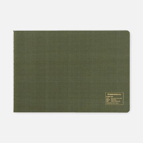 grid notes horisontal 2 mm olive