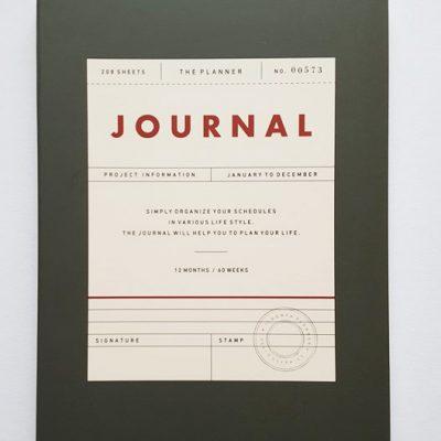 undated journal