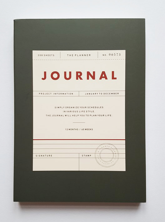 undated journal