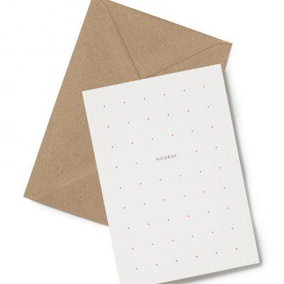 hooray dots greeting card