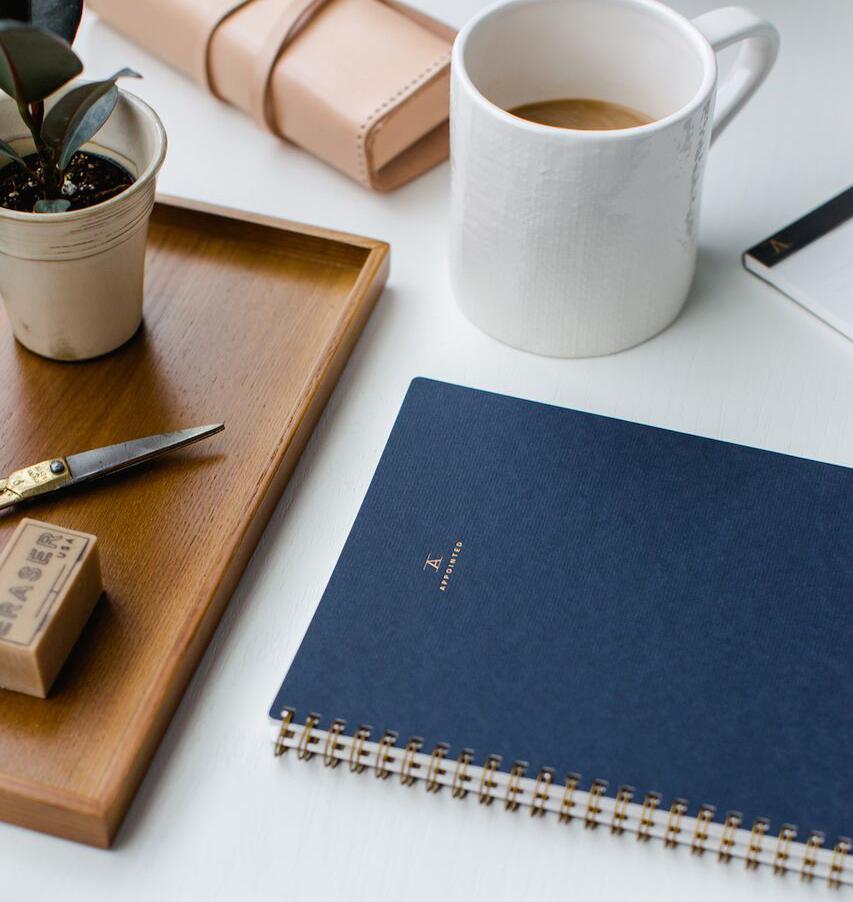 workbook oxford blue